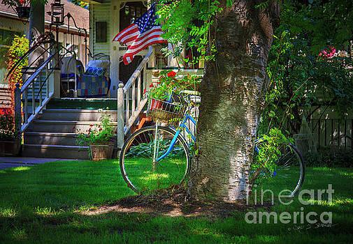 All American Summer Bicycle by Craig J Satterlee