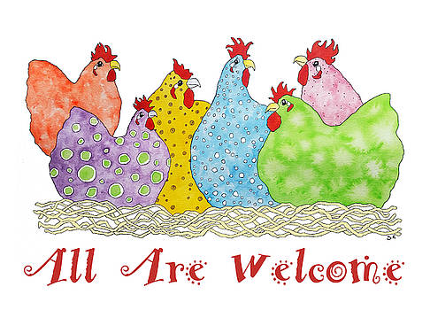 All Are Welcome by Sarah Rosedahl