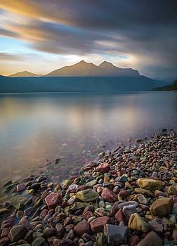 All is Calm  // Lake McDonald, Glacier National Park  by Nicholas Parker