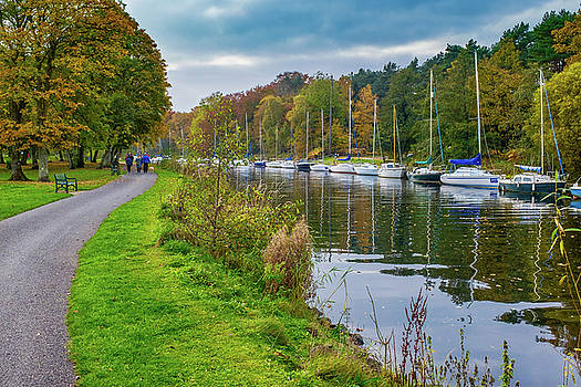 All moored up by Alan Campbell