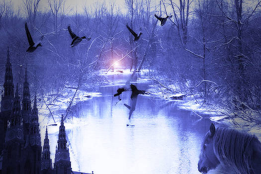 Cathy  Beharriell - All My Dreams in Blue