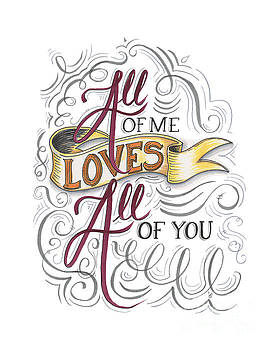 All of me loves all of you by Cindy Garber Iverson