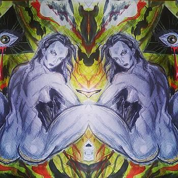 All seeing eye 2 by Mark Bradley