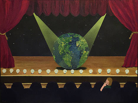 All the World's On Stage by Thomas Blood