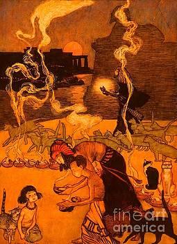 Peter Gumaer Ogden Collection - All Through Egypt Every Man Burns A Lamp
