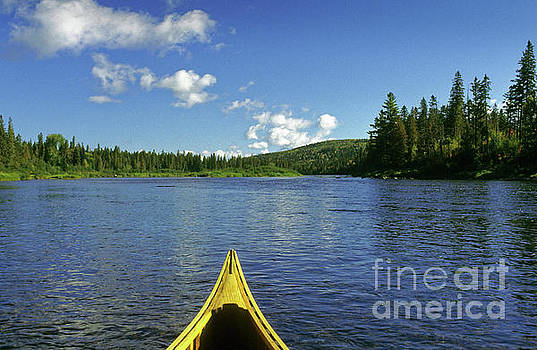 Allagash River, Northern Maine, USA by Kevin Shields