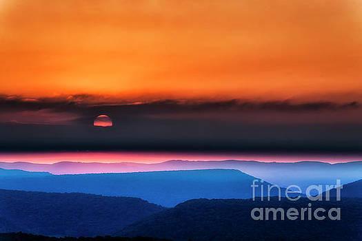 Allegheny Mountain Sunrise 2 by Thomas R Fletcher