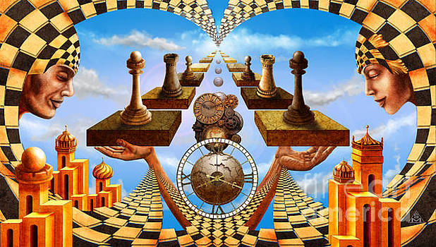 Allegory of Chess. Equal Exchange by Serge M