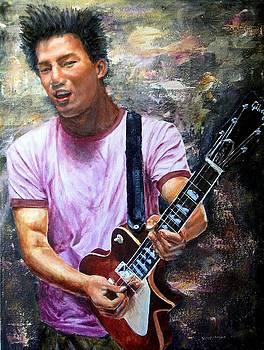 Allen - the guitar man by Menq Tsai