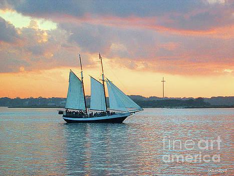 Vilano Bay by Samuel Allen