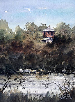 Allen St Mansion Over the Concho by Tim Oliver