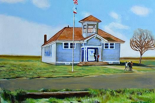 Allensworth School by Howard Stroman