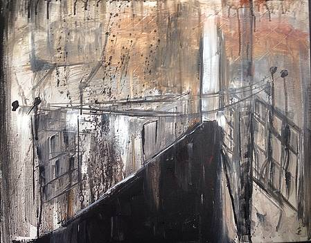 Alley by the Waterfront by Susan Gauthier