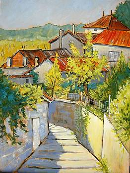 alley in Aubeterre by Cathy MONNIER
