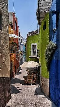 Alleyway in Guanajuato, Mexico by Steffani Cameron