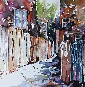 Alleyway Passage by Rae Andrews