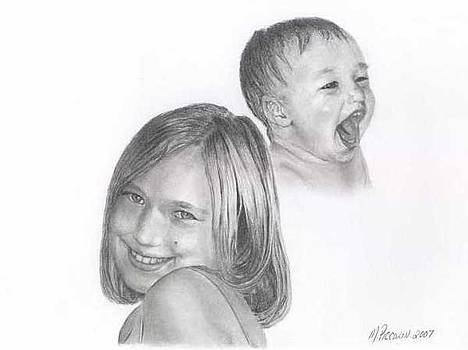 Allie then and now by Marlene Piccolin
