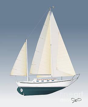 Allied Sailing by Regina Marie Gallant