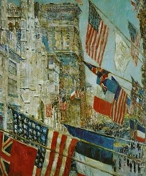 Allies Day May by Hassam Childe