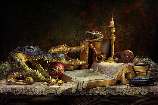 Alligator Intellect by Kirk Voclain