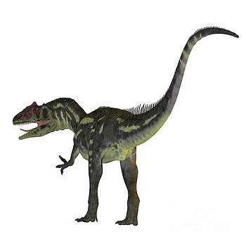 Allosaurus Dinosaur Tail by Corey Ford