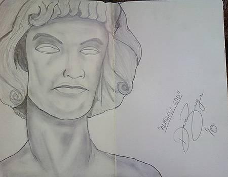 Almighty God statue by Dorine Coello