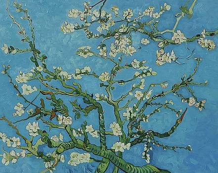 Almond Blossom, 1890 by Vincent van Gogh  by William Roberts