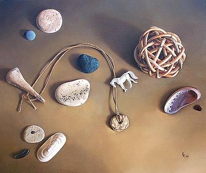 Almost forgotten memories by Elena Kolotusha