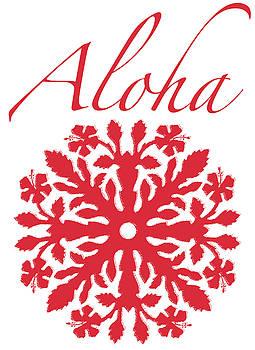 James Temple - Aloha Red Hibiscus
