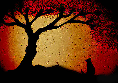 Alone in Autumn by Amanda Copenhaver