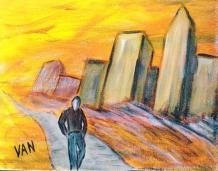 Alone In The City by Van Winslow