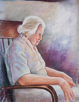 Alone in Thoughts by Patricia Baehr-Ross
