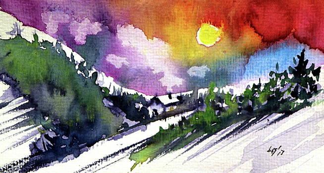 Alone in wintertime by Kovacs Anna Brigitta