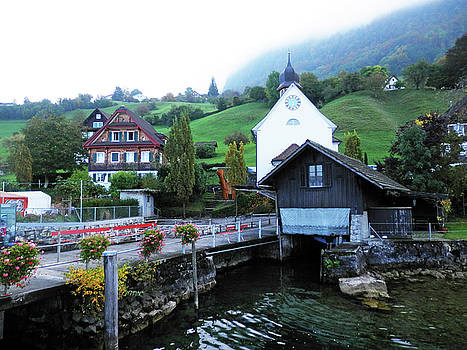 Along lake Lucerne by Pema Hou