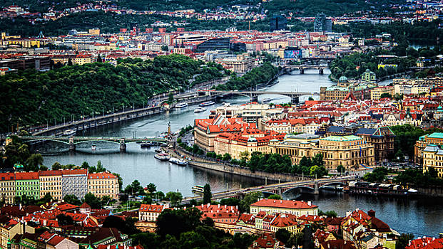 Along the Vltava River by Kevin McClish