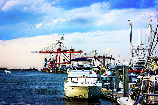 Along The Wharf by Barry Jones