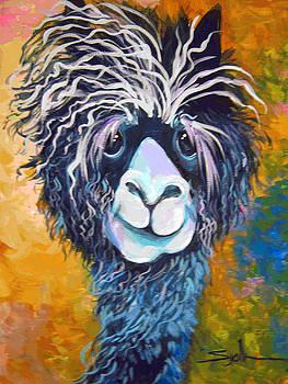 Alpaca Punked by Patty Sjolin