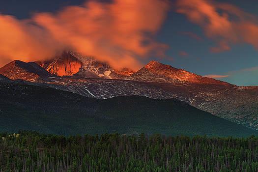 Alpenglow Sunrise by John De Bord