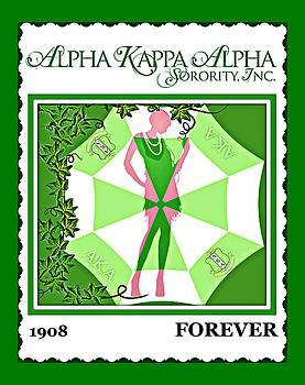 Alpha Kappa Alpha by Lynda Payton