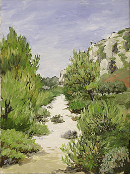Alpilles close to St. Remy by Gerold Kalter