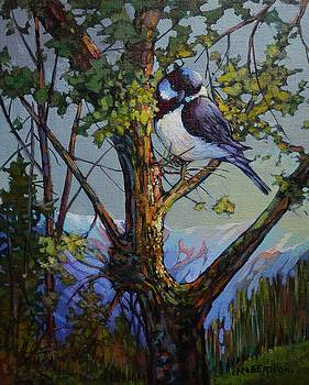 Alpine Chickadee - Revisited by Catherine Robertson