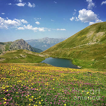 ALpine lake by Delphimages Photo Creations