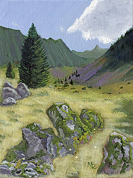 Alpine Meadow by Mike Robles