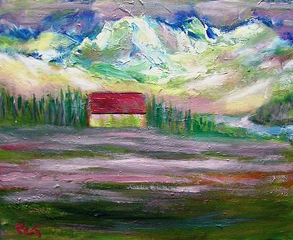 Alpine Mountain Morning by Patricia Taylor