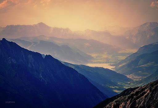 Alpine Region Austria by Gerlinde Keating - Galleria GK Keating Associates Inc