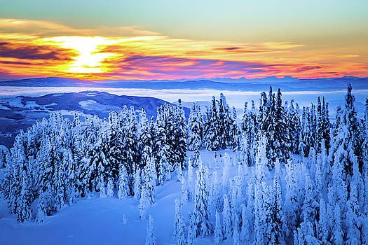 Alpine Sunset #2 by Sam Egan