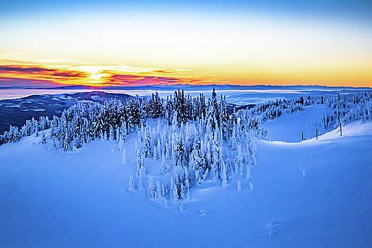 Alpine Sunset #3 by Sam Egan