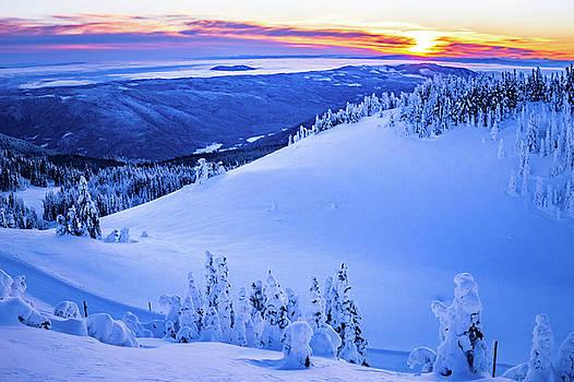 Alpine Sunset by Sam Egan