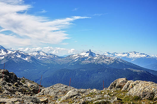 Alpine view in Canada by Daniela Constantinescu