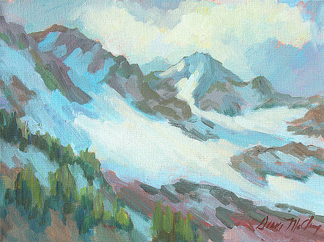 Alps in Switzerland by Diane McClary